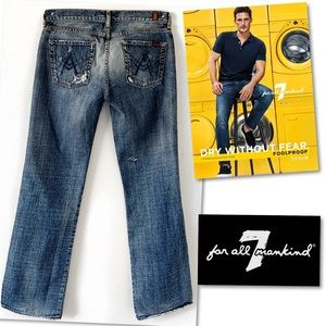 7 For All Mankind Jeans - 7 For All Mankind MEN'S A Pocket Jeans 34 X 34.
